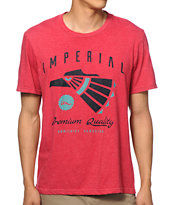 Imperial Motion Caster Red Tee Shirt