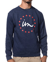 Imperial Motion Classic Pride Navy Crew Neck Sweatshirt
