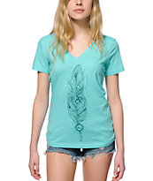 Imperial Motion Feather V-Neck T-Shirt
