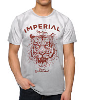 Imperial Motion Forefront Tiger Color Change Grey Tee Shirt