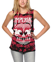 Imperial Motion Fountain Tie Dye Muscle Tee