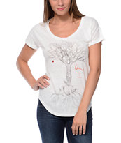 Imperial Motion Laws Of Nature Natural White Dolman Tee Shirt