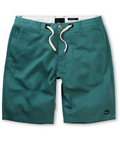 Imperial Motion Murphy Emerald Blue Chino Shorts