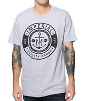 Imperial Motion Nameplate Grey Tee Shirt