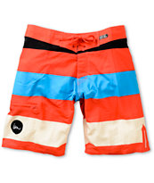 Imperial Motion Rufus Cayenne Stripe 20 Board Shorts