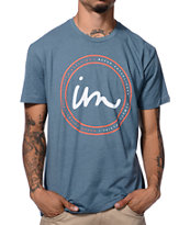 Imperial Motion State Logo Blue Tee Shirt
