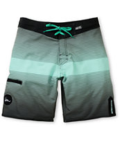 Imperial Motion Stripe Faded Mint 20 Board Shorts