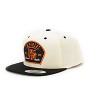 Imperial Motion Tiger Trip Natural & Black Snapback Hat
