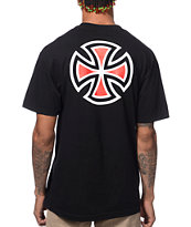 Independent Bar & Cross Black Tee Shirt