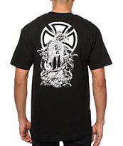Independent Nozaka Tattoo Cross T-Shirt