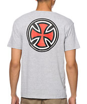 Independent Pinlined Cross Tee Shirt