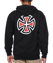 Independent Truck Co. Bar & Cross Black Pullover Hoodie