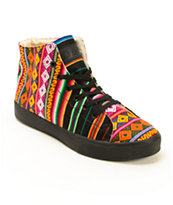 Inkkas Spectrum High Top Shoes