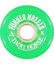 Iron Horse The Funner Green 70mm Longboard Wheels