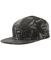 JSLV Classic Palms Black 5 Panel Hat