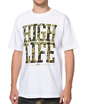 JSLV High Life Nug White Tee Shirt