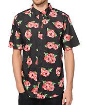 JSLV Rose Bud Button Up Shirt