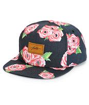 JSLV Rose Bud Snapback Hat