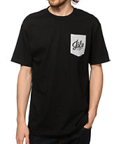 JSLV Script Pocket T-Shirt