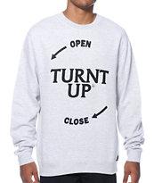 JSLV Turnt Up Crew Neck Sweatshirt