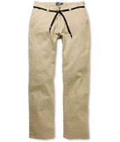 JSLV Worker Khaki Regular Fit Pants