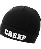 Jac Vanek Creep Black Fold Beanie