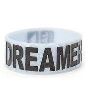 Jac Vanek Dreamer Light Blue Rubber Bracelet