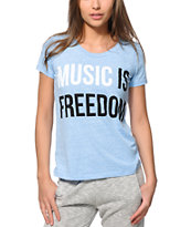 Jac Vanek Music Is Freedom T-Shirt