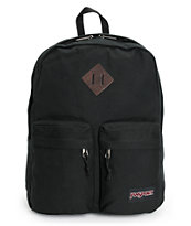 Jansport Hoffman Black Backpack