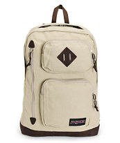 Jansport Houston Desert Beige Laptop Backpack