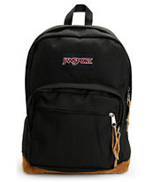 Jansport Right Pack Black Laptop Backpack