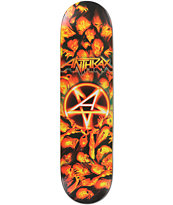Jart x Anthrax Worship Music 8.0 Skateboard Deck