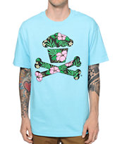 Johnny Cupcakes Hawaiian Crossbones T-Shirt
