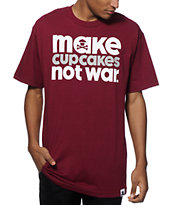 Johnny Cupcakes Make Cupcakes Not War T-Shirt