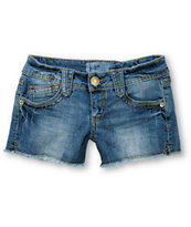 Jolt Brooklynn Medium Wash Cut Off Shorts