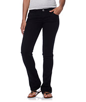 Jolt Itty Bitty Boot Black Bootcut Jeans