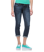 Jolt Marty Dark Wash Cropped Jeans