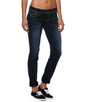Jolt Super Stretch Dark Wash Skinny Jeans