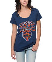 Junk Food Chicago Bears Navy Blue Tee Shirt