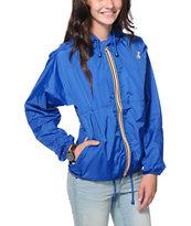 K-Way Claudette Klassic Blue Windbreaker Jacket