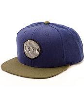 KR3W Blinders Snapback Hat