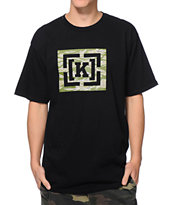 KR3W Cammo Bracket Black Tee Shirt