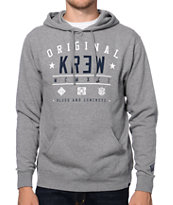 KR3W First String Heather Grey Pullover Hoodie