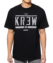 KR3W Hard Time Black Tee Shirt
