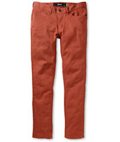 KR3W K Skinny Light Red Jeans