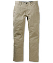 KR3W K Slim Coffee Slim Fit Chino Pants