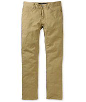 KR3W K Slim Gold 5-Pocket Chino Pants
