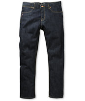KR3W K Slim Indigo Blue Slim Fit Jeans