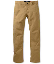 KR3W K Slim Khaki Slim Fit Chino Pants