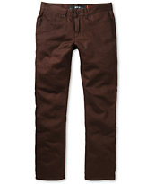 KR3W K Slim Soil Slim Fit Twill Pants